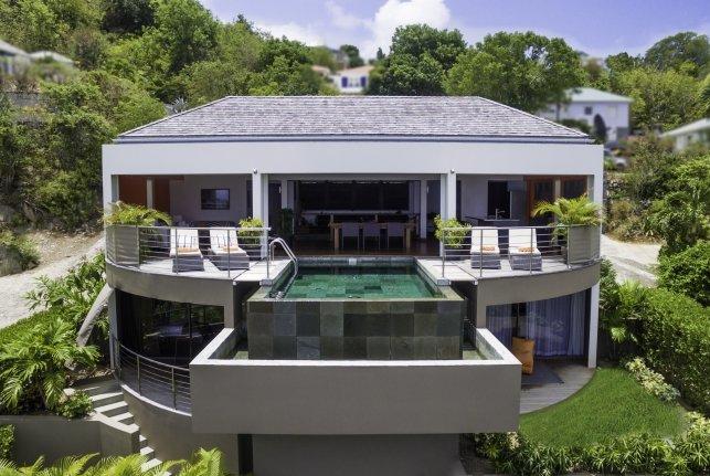 Villa Angel Home St Barts Rental Villa Angel Home - Image 1 - Vitet - rentals