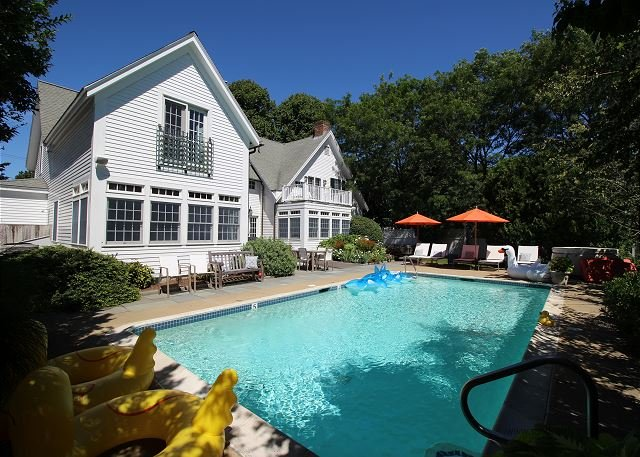 Luxury In-town Edgartown Home with Pool - Image 1 - Edgartown - rentals