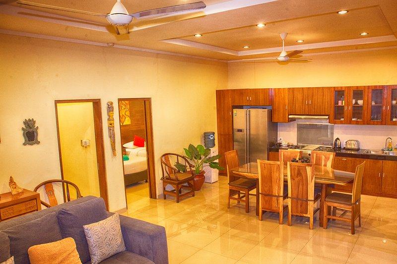 Santosa, Tropical 2BR Villa, Legian - Image 1 - Legian - rentals