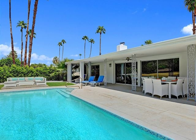 Location, Location, Location on Indian Canyon Golf Course with Private Pool! - Image 1 - Greater Palm Springs - rentals