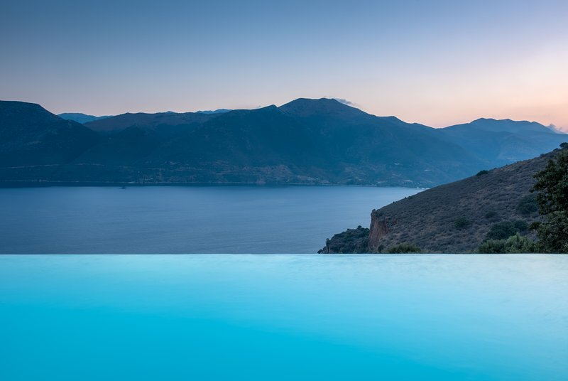 "Infinity pool - ""Mani house-Ktima Kriviana"" Luxury villa private infinity pool/mesmerizing view - Gythion - rentals"
