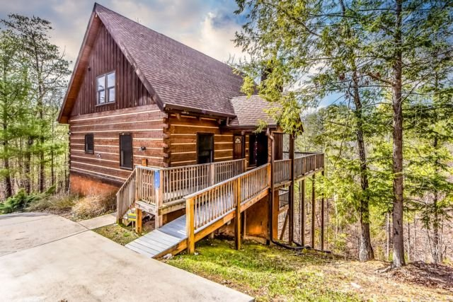 Owls Roost Exterior - Owls Roost - Townsend - rentals