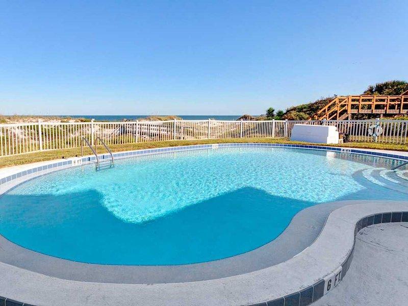 Ocean Eight 101, 2 Bedrooms, Ocean Front, Pool, WiFi, Sleeps 6 - Image 1 - Saint Augustine - rentals
