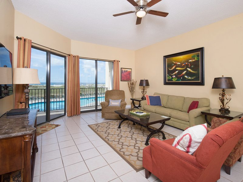 Living Area on Ocean - Phx 7 -Oceanfrt- , July 7-10, July 28-31, $395, Aug 7-17 - Orange Beach - rentals