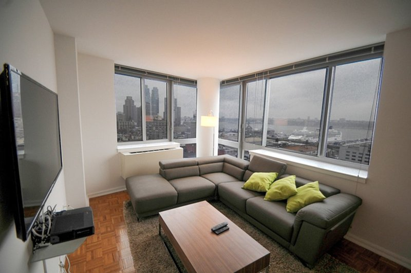 Furnished 2-Bedroom Condo at 10th Ave & W 53rd St New York - Image 1 - Weehawken - rentals