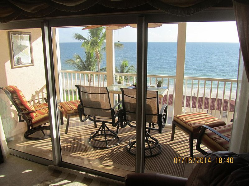 The most incredible view from the most comfortable lanai in Dolphin Way - Dolphin Way 403B - Bonita Beach -INCREDIBLE views - Bonita Springs - rentals