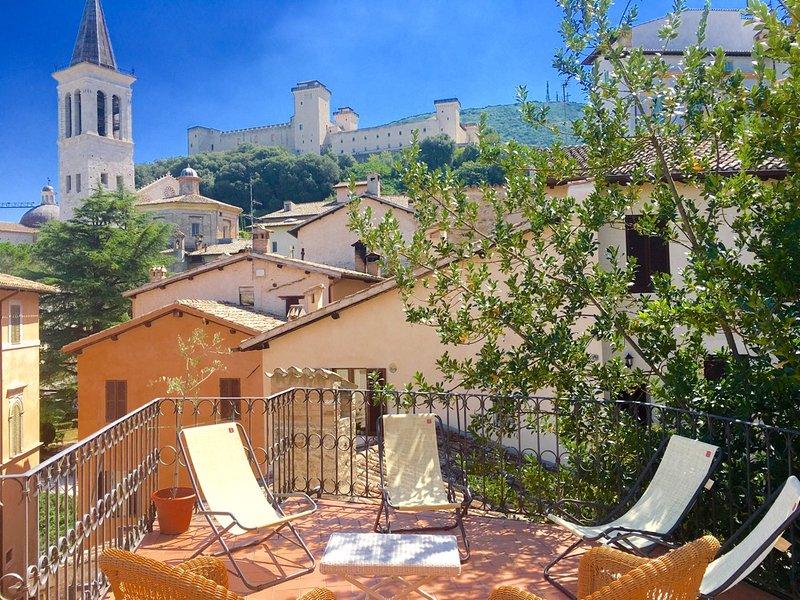 2 stunning terraces - Terrazza Duomo - car NOT necessary/central Spoleto - Spoleto - rentals