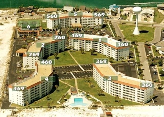 Two Bedrooms, In One of our Gulf Front Buildings - Image 1 - Fort Walton Beach - rentals