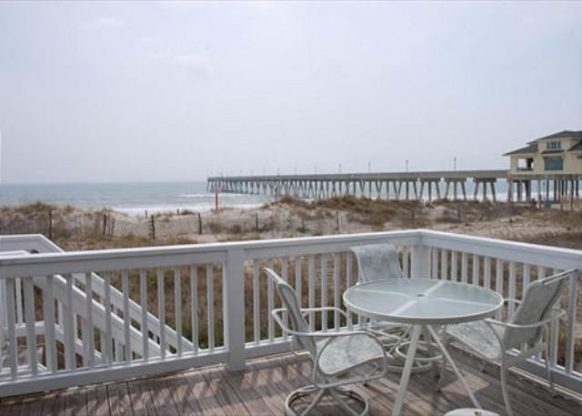 Seabiscuit - Enjoy your vacation at this bright and open oceanfront townhome - Image 1 - Wrightsville Beach - rentals