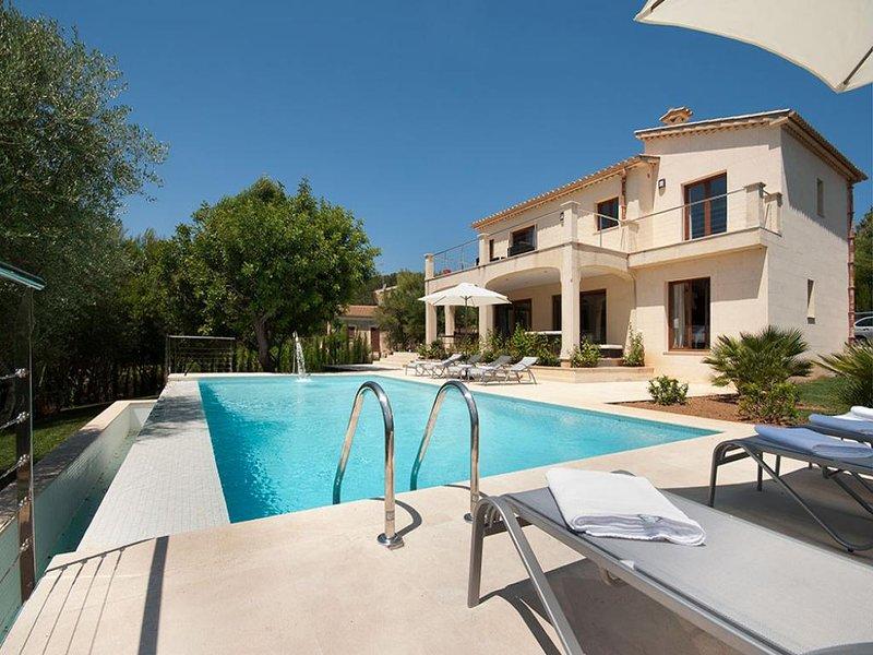 4 bedroom Villa in Pollensa, Mallorca, Mallorca : ref 4269 - Image 1 - Sa Pobla - rentals