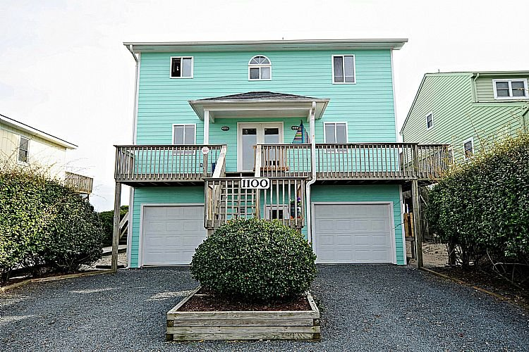Street View of House - A Grande Green - Surf City - rentals