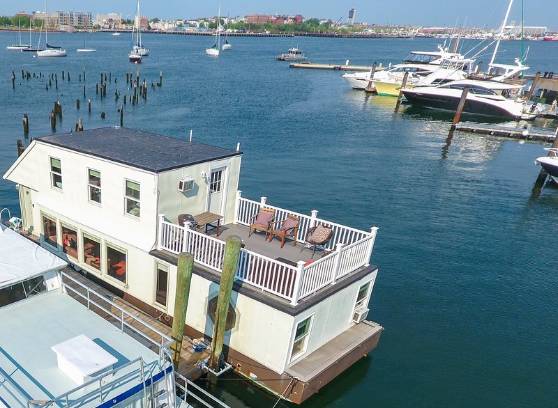 Houseboat White Elephant:  HUGE Floating Home Downtown Boston! - Image 1 - Boston - rentals