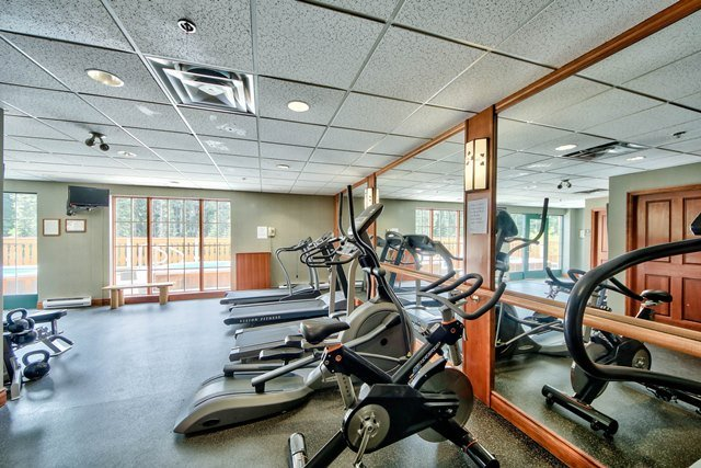Fitness Room 1 - Hearthstone Lodge Village Ctr - HS414 - Sun Peaks - rentals