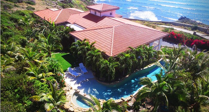 VILLA ROSA...4 BR located in the gated community of Red Pond Estates on St - Image 1 - Saint Martin-Sint Maarten - rentals
