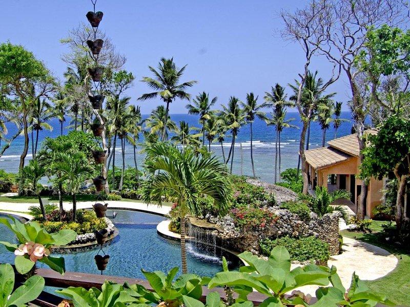 Luxury 10 bedroom Dominican Republic villa. Beachfront private resort! - Image 1 - Cabrera - rentals