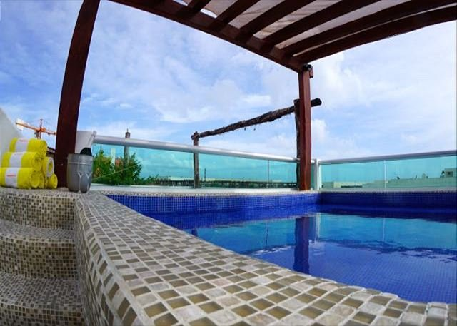 MAGIC PARADISE MAMITAS BEACH AREA,  Ocean View from rooftop & Private Pool - Image 1 - Playa del Carmen - rentals