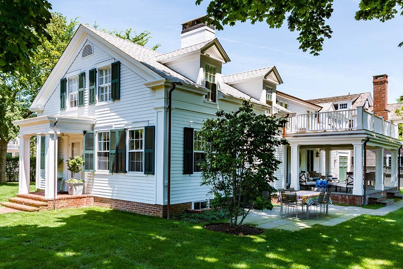 House, Porch & Patio - COLEL - Stunning Greek Revival, Newly Updated, Edgartown Village Area, Walk to Fuller St and Lighthouse Beaches - Edgartown - rentals
