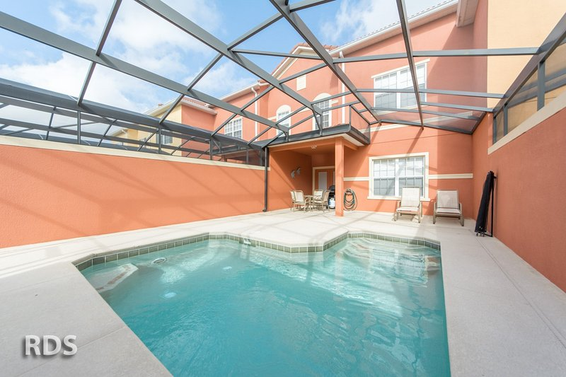 PARADISE PALMS RESORT- 4 BD  splash pool finest Orlando vacation resort- Book us online www. - Image 1 - Four Corners - rentals
