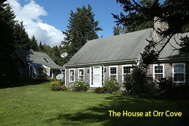 The House at Orr Cove - Image 1 - Cape Rosier - rentals