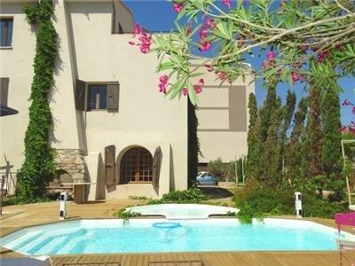"""""""serra"""" : Appartement avec vue au centre de Calvi avec piscine et à 100 m de la - Image 1 - Calvi - rentals"""