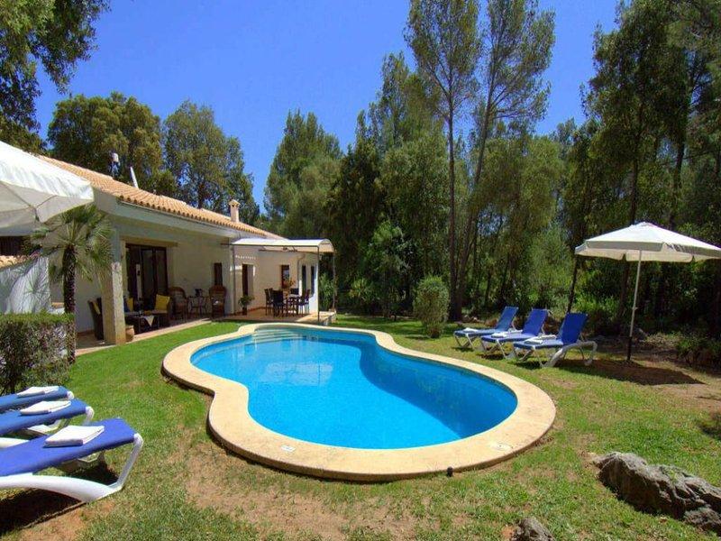 3 bedroom Villa in Pollenca, Mallorca, Mallorca : ref 3094 - Image 1 - Pollenca - rentals