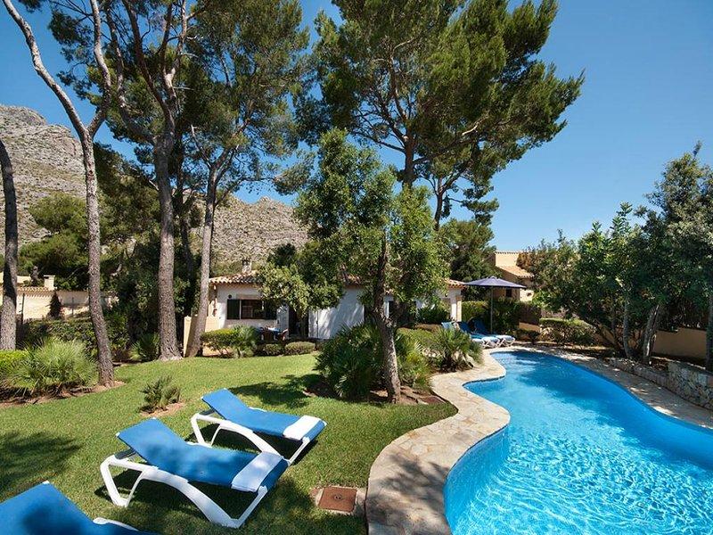 3 bedroom Villa in Cala San Vicente, Mallorca, Mallorca : ref 3095 - Image 1 - Cala San Vincente - rentals