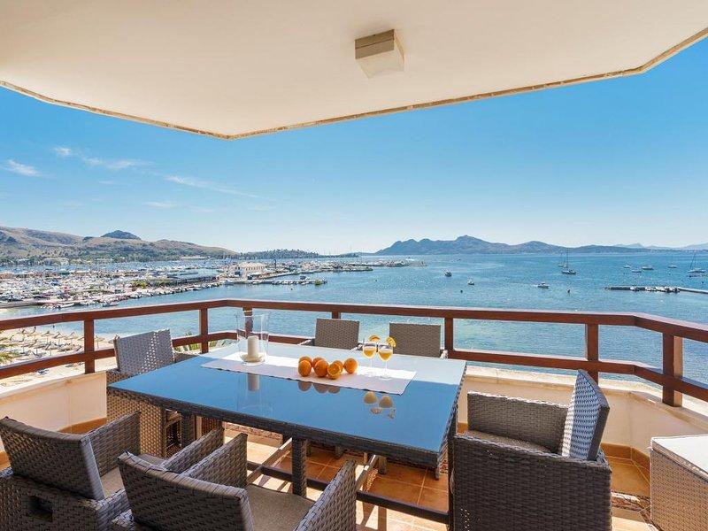 3 bedroom Apartment in Puerto Pollenca, Mallorca, Mallorca : ref 3281 - Image 1 - Port de Pollenca - rentals