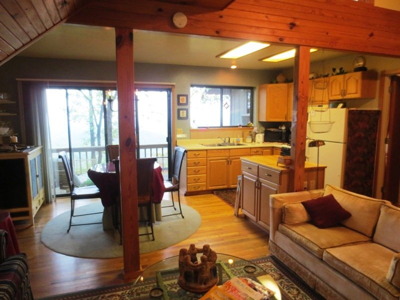 Eagle's Nest, ridge top 2 bdrm cottage with jetted tub for two and spectacular view! - Image 1 - Eureka Springs - rentals