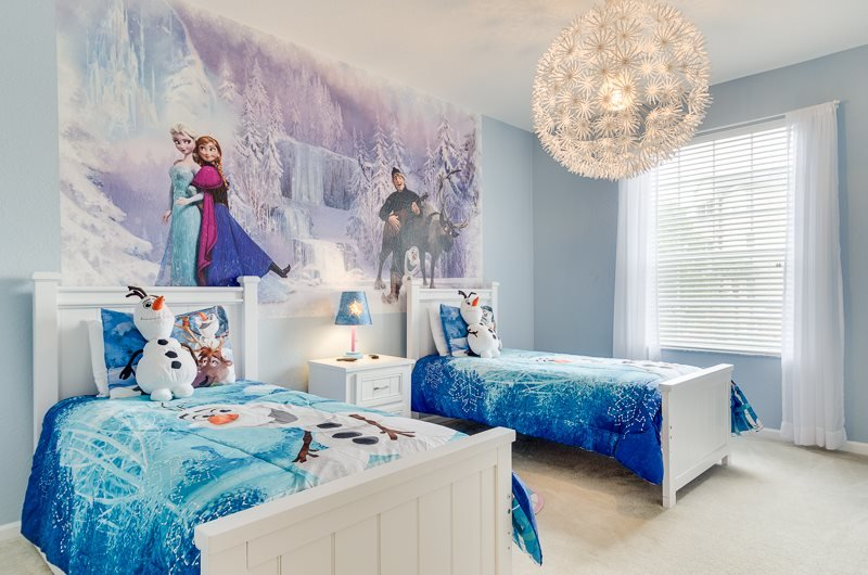 Frozen Magic | 2nd Floor Condo, Located in Bldg 5 Close to Clubhouse & Pool with Frozen Themed Bedroom - Image 1 - Orlando - rentals