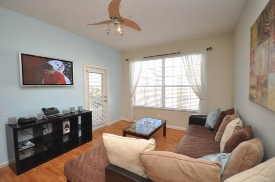 Magic Moments | Top Floor Oversized 1,408 sq. ft 3 bed 2 bath Condo near Resort Clubhouse - Image 1 - Orlando - rentals