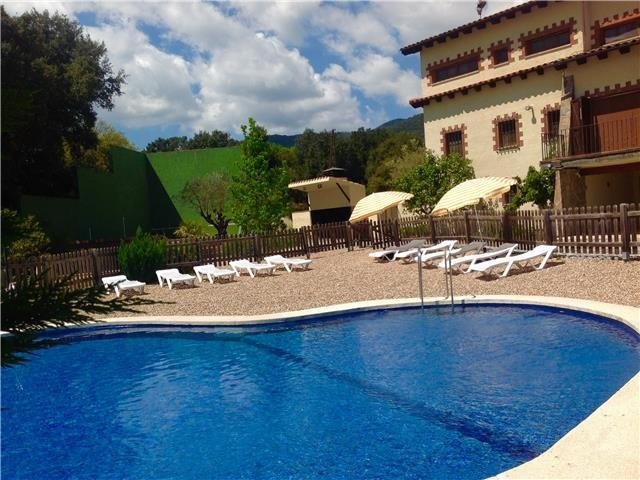Pleasant 8-bedroom villa in Vilamajor, only 15km from the Spain beaches! - Image 1 - Sant Pere de Vilamajor - rentals