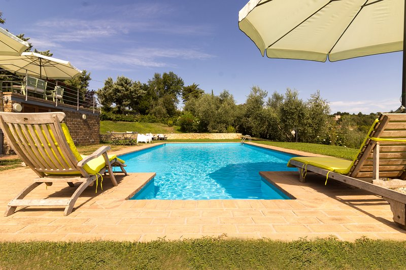 Swimming Pool Terrace - CalaSabina lovely villa with pool close to Rome - Rome - rentals