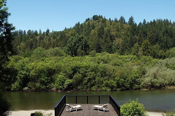 River Rose Cottage, Riverfront Cabin - River Rose Cottage - Guerneville - rentals
