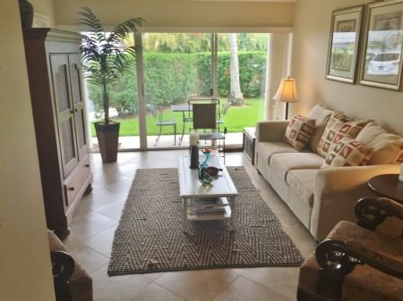 Open Concept Living Area - Cozy Ground Floor unit located in the Historic District of Old Marco Island - Marco Island - rentals