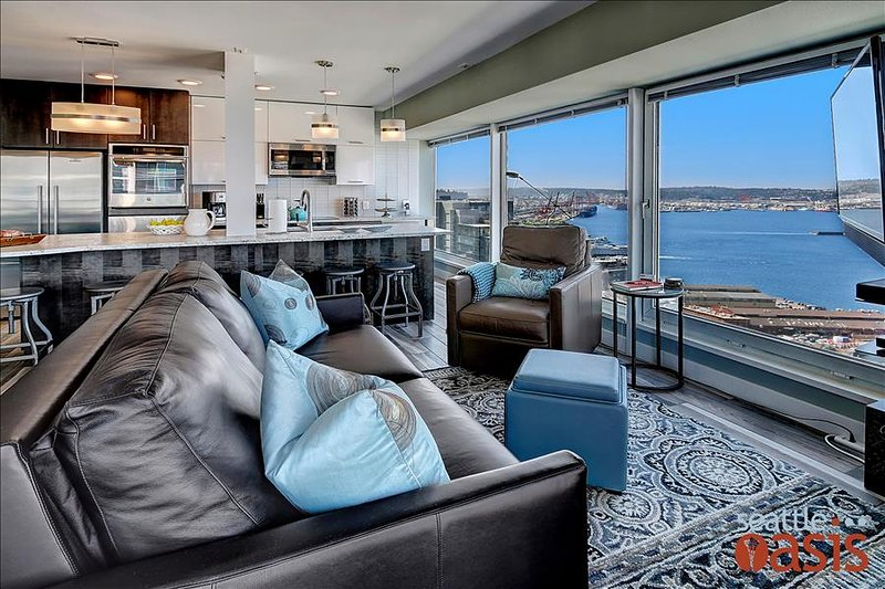 2 Bedroom Panoramic Sunset View Oasis - Image 1 - Seattle - rentals
