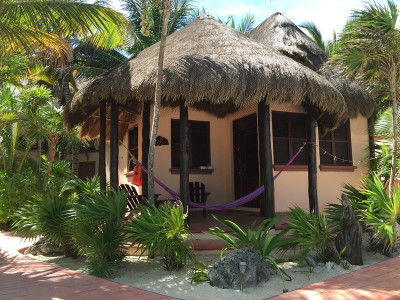 Romantic Beachfront Casitas of Nah Uxibal - Image 1 - Soliman Bay - rentals