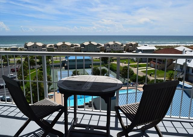 Wake up and enjoy the view from the 6th floor unit. - Tristan Towers #6B - Pensacola Beach - rentals