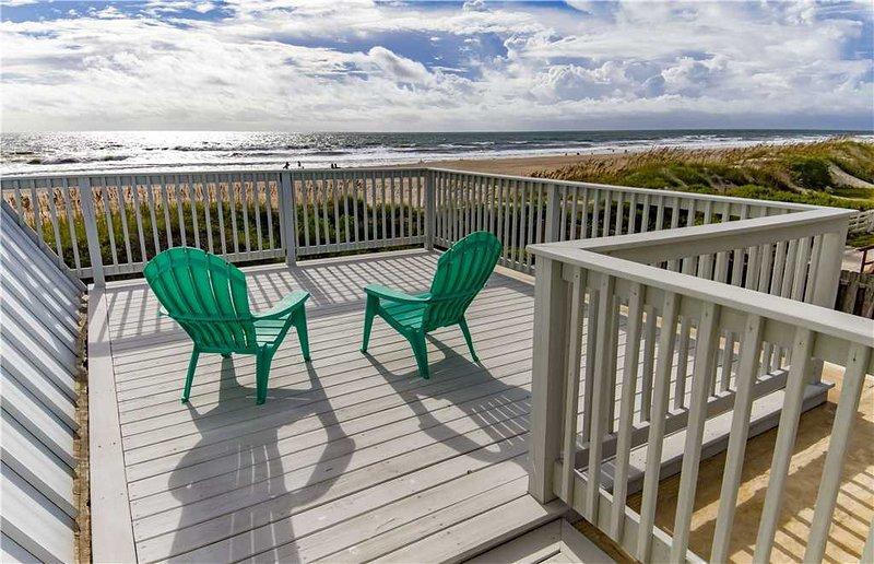 Cottage By The Sea, 4 Bedrooms, Ocean Front, Pet Friendly, Sleeps 10 - Image 1 - Saint Augustine - rentals