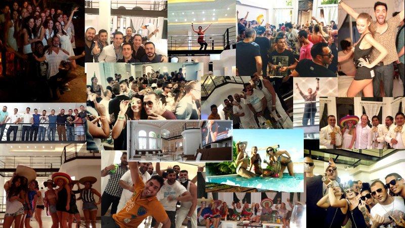 Mexico Villa Penthouse de la Maison Mauresque - Large Groups Vacation Rental - luxuryplayadelcarmen - PRIVATE VAN & DRIVER & CHEF FOR YOUR ENTIRE STAY! - Playa del Carmen - rentals