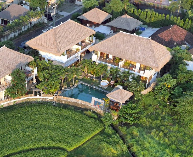 VILLA 5 or 6 bedroom 5 till 16pax open rice fields - Image 1 - Kerobokan - rentals