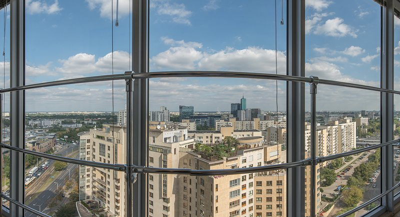 City center apartment! Babka Tower with A/C - Image 1 - Warsaw - rentals
