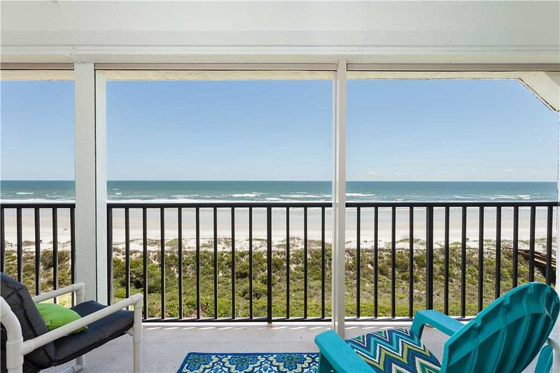 Windjammer 402, 2 Bedrooms, 4th Floor, Ocean Front, Elevator, Sleeps 7 - Image 1 - Saint Augustine - rentals