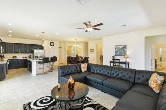 Gorgeous 8 Bedroom 8 Bath Pool Home Near Disney In Gated Community. 946SP - Image 1 - Orlando - rentals