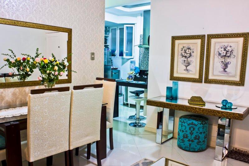 Living room - Maravilhoso Apartamento Em Copacabana - Rio de Janeiro - rentals