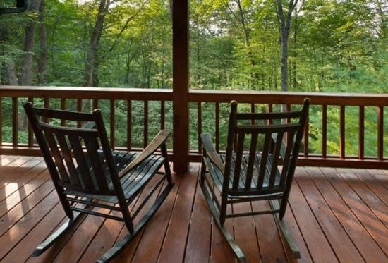 Wilderness Way - view from the deck overlooking the mountains - Wilderness Way - Ellijay - rentals