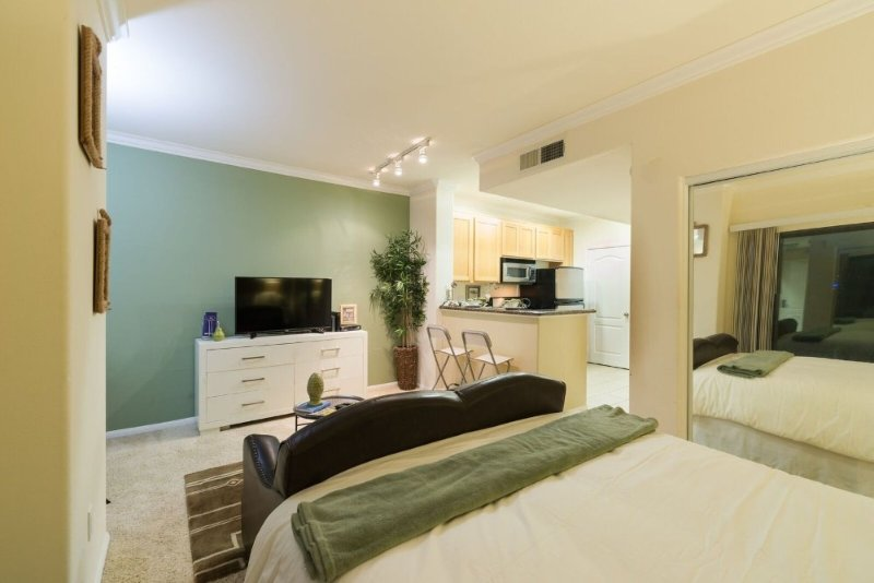 Posh Studio Apartment in LA With Great Amenities - Image 1 - Los Angeles - rentals