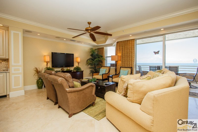 Living Area - Som 904 - Somerset - Marco Island - rentals