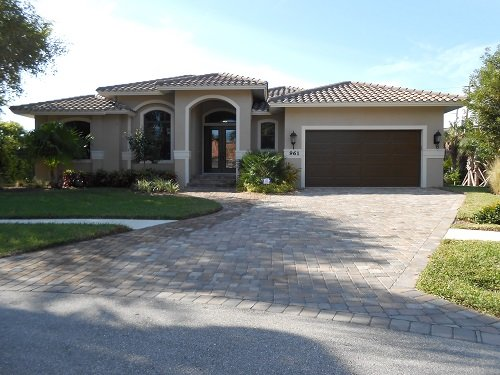 Front of Home - Lido - LID961 - Brand-new Home 2 Blocks to Beach! - Marco Island - rentals