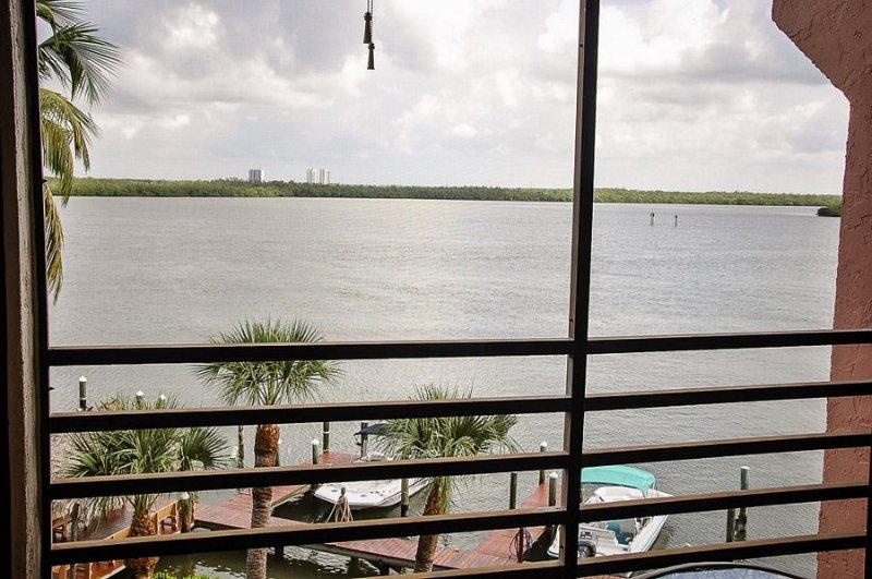 View of Marco River - Riverside Club, E-403 - Marco Island - rentals