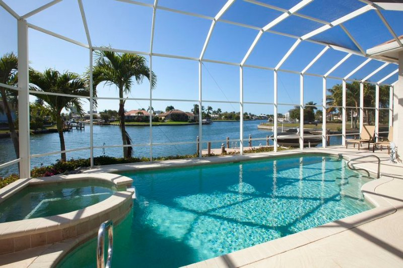 Pool/Spa/Water View - Mistletoe Ct, 1200 - Marco Island - rentals
